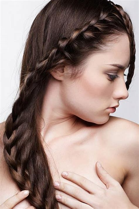 hairstyles for straight hair with braids cute braided hairstyles for straight hair latest hair