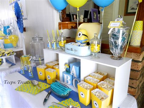 Minions Baby Shower by Minion Baby Shower Baby Shower Minion Baby