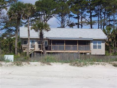 Sc Cabin Rentals by Oceanfront Memories Island Sc 3 Br Vacation