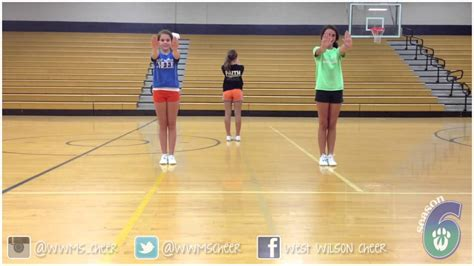 tutorial dance youtube youth cheer dance tutorial youtube