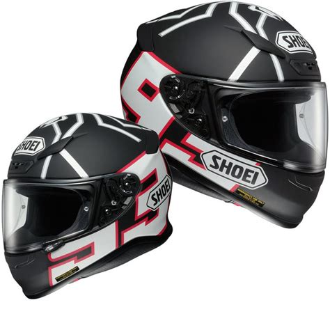 Helm Shoei Ant Shoei Nxr Marquez Black Ant Replica Helmet Helmets Ghostbikes