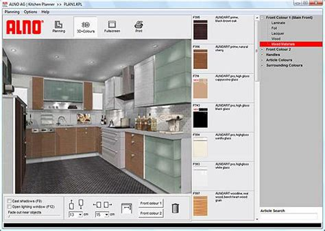kitchen cabinet planner online alno ag kitchen planner 0 96a screenshots