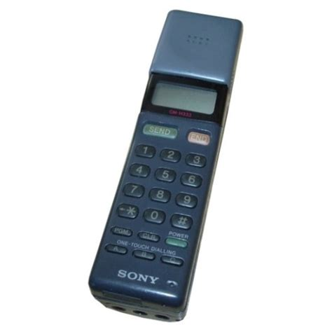 sony mobile phone prop hire sony cm h333 mars bar mobile phone