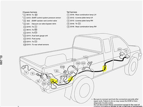 nissan frontier fuel wiring wiring diagram manual
