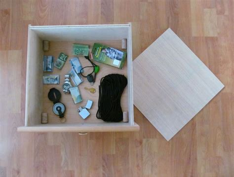 build false bottom drawer 8 diy secret hiding places cammy