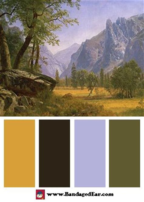 1000 images about bierstadt colors on albert bierstadt color palettes and lucerne