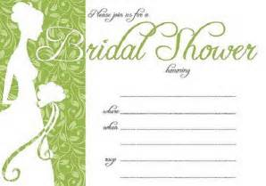 Free Printable Bridal Shower Templates by Bridal Shower Invitations Easyday