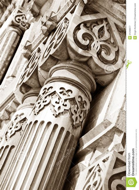 ancient architectural details stock image image 31298977
