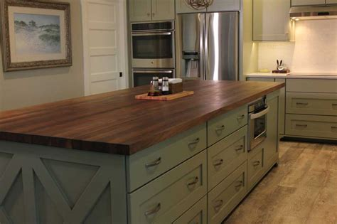 butcher kitchen island black walnut kitchen island mcclure block butcher block