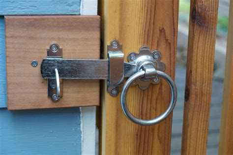 stainless steel 316 ring gate latch contemporary