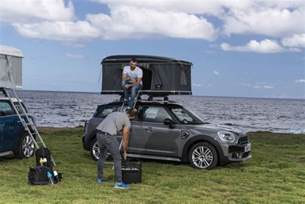 autohome s new rooftop tent for mini countryman