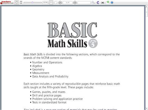 Basic Math Skills Worksheets by 6th Grade Math Skills Descargardropbox