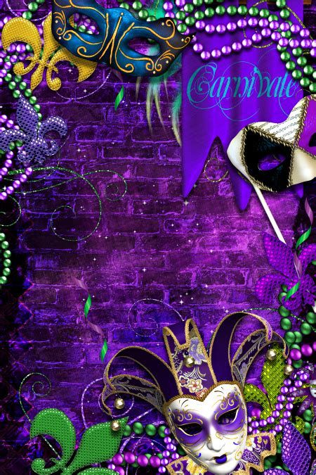 mardi gras background home butterflywebgraphics
