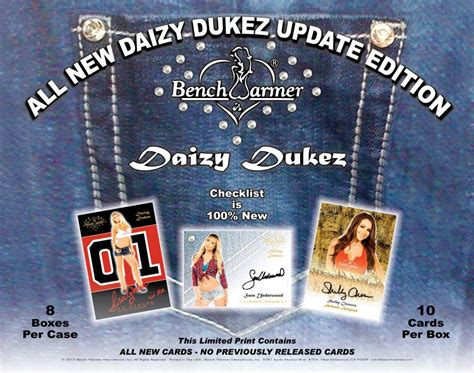 bench warmers cards benchwarmer daizy dukez update trading cards box 2016