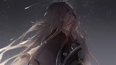 wallpaper anime sad hd crying anime girl hd desktop wallpaper 21540 baltana