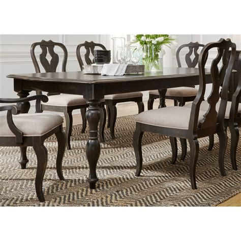 liberty furniture dining table liberty furniture chesapeake relaxed vintage rectangular