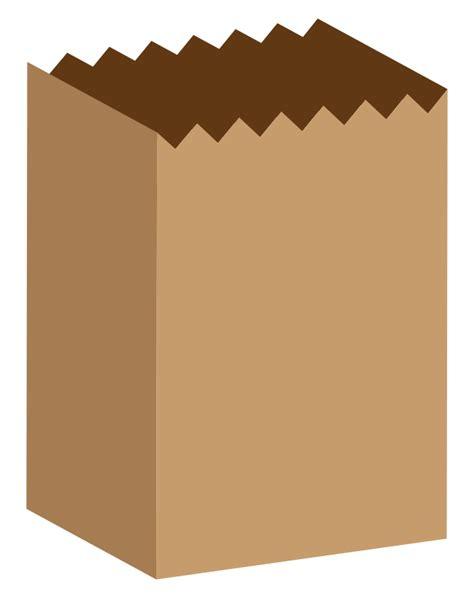 Paper Bag Clipart free simple brown paper bag clip