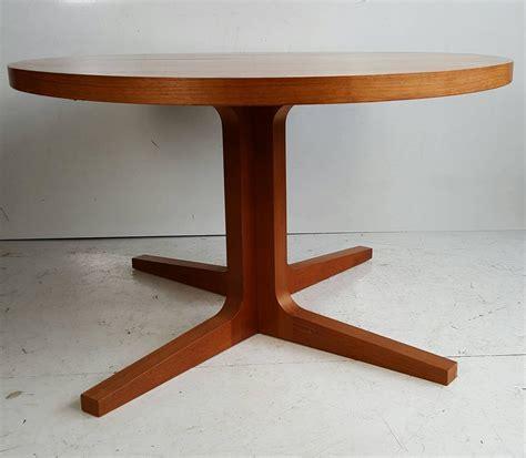 expandable dining room table plans danish modern expandable teak trestle table g plan