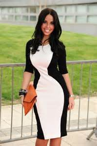 Com dresses pinterest white dress black and white and the shape