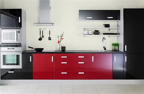 Kitchen Cupboards Designs Pictures by Fekete Feh 233 R 233 S Piros