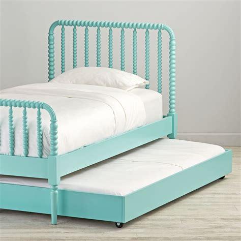jenny lind bunk bed teal jenny lind trundle bed the land of nod