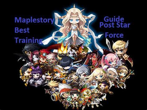 maplesea hayato training guide maplestory best 2015 1 250 training guide post starforce v