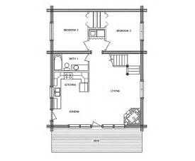 log home floor plan base c