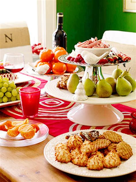 food decorations ideas for christmas 10 buffet table decorating ideas