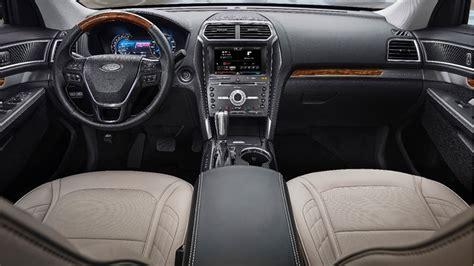 2016 ford explorer sport suv review interior msrp pics