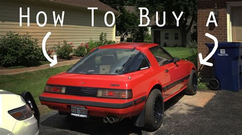 mazda car buy how to buy a mazda rx7 or any rotary car