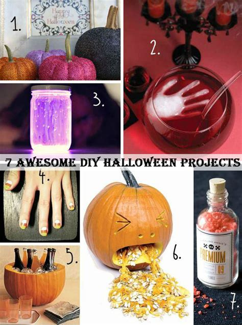 Halloween Crafts Treats - 7 awesome diy halloween projects i luv diy