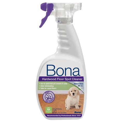 bona 36 oz hardwood floor spot cleaner wm720059001 the