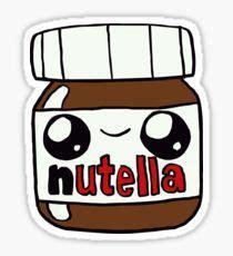Nutella Aufkleber Kostenlos by Food Stickers Nutella Sticker Starbucks Sticker