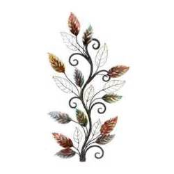 Metal Leaf Wall Decor by Wall Accent Pieces Overstock Shopping The Best
