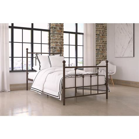 Metal Frame Bed by Dhp Bombay White Bed Frame 3246098 The Home Depot