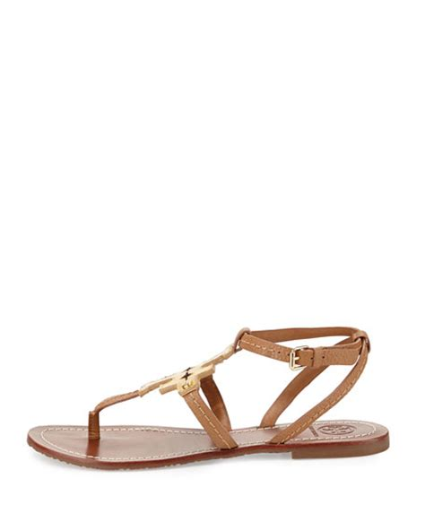 burch phoebe sandal burch phoebe leather flat sandal gold