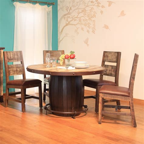 international furniture direct 900 antique 5 dining