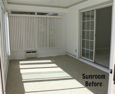 converting a sunroom into a bedroom a sunroom gets a beachy blue makeover hooked on houses