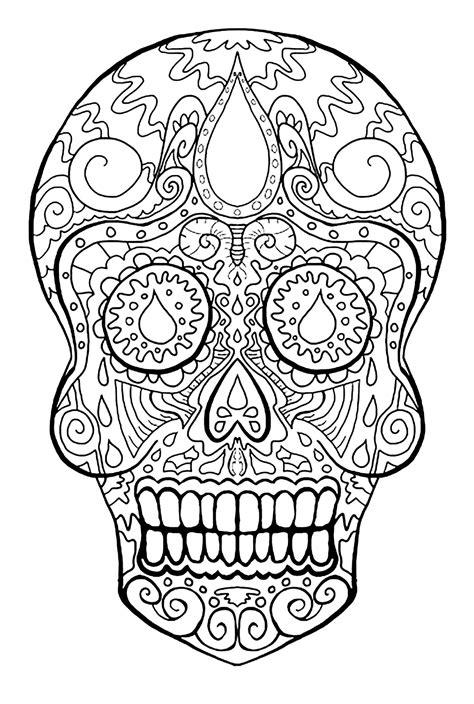skull dia de los muertos el d 237 a de los muertos