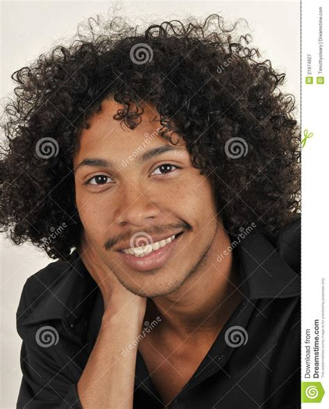 afro american afro american male royalty free stock photography image