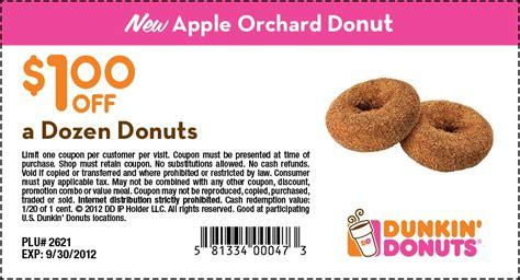 the dozen coupon code dunkin donuts 1 dozen donuts printable coupon