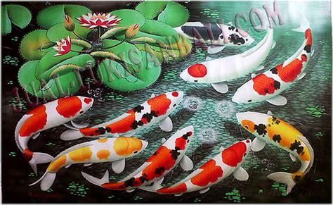 Lukisanku Lukisan Ikan Koi Mr 6 lukisan ikan koi gmk 08 flickr photo