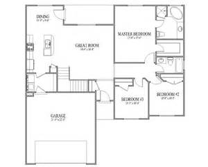 3 bedroom rambler floor plans simple rambler house plans with 28 images rambler