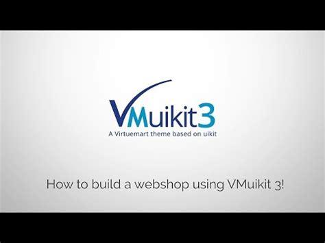 yootheme tutorial joomla vmuikit how to build a webshop with joomla virtuemart