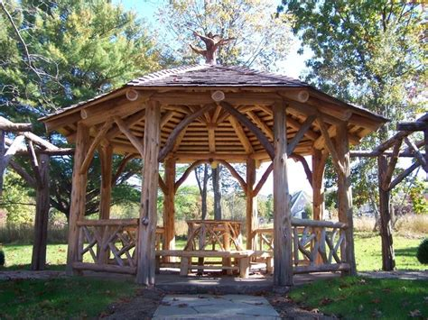 custom made druskin gazebo by natural edge custommade com
