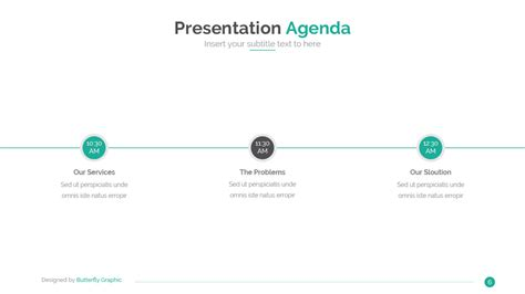 business idea presentation template business idea powerpoint template by butterfly graphic