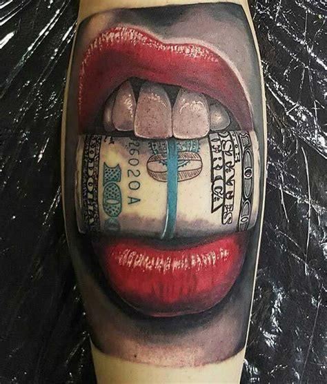 red lips tattoo sleeve bucks red lips tattoo realistic tattoos pinterest