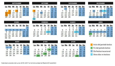 Calendario 2017 España Para Imprimir Calendario Escolar 2017 Calendario 2017