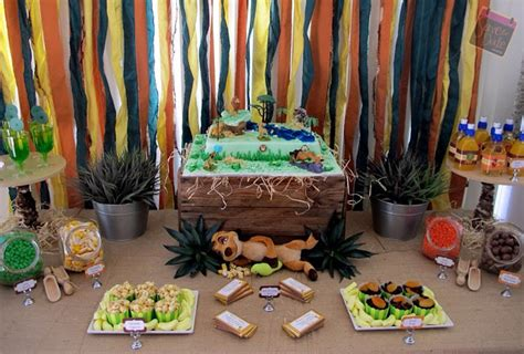 king themed birthday party little big company the blog the lion king themed party