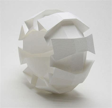 3d Origami Shapes - 3d origami by jun mitani strictlypaper